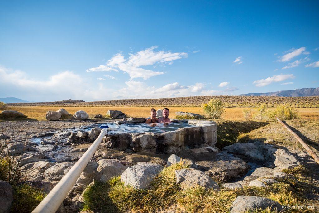 Mammoth Lakes et les sources d'eau chaude usa blog voyage et lifestyle lovelivetravel