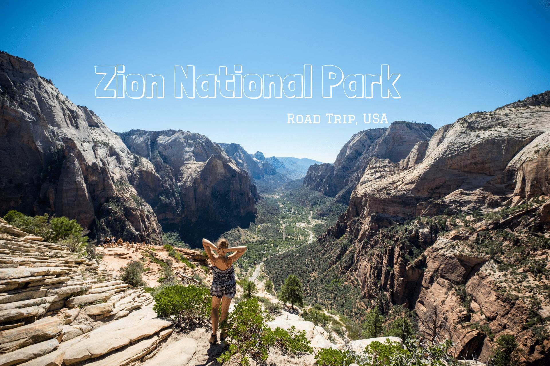 Zion National Park : rando, rando & rando