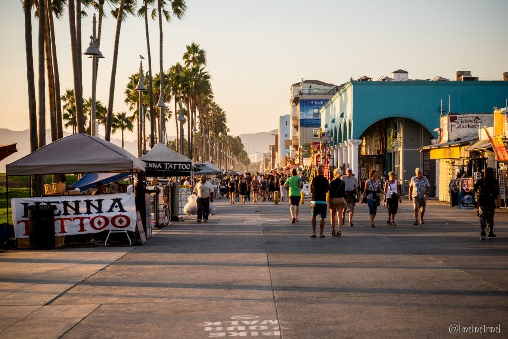 Venice beach Los Angeles Californie Road trip USA blog voyage Lovelivetravel