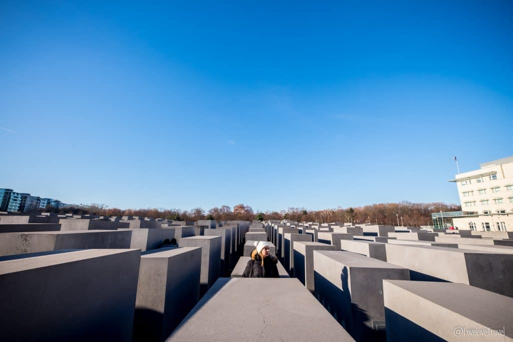 mémorial juifs assassinés europe Berlin Allemagne blog voyage Lovelivetravel