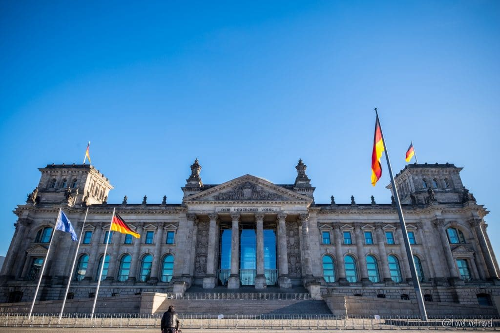 palais reichstag bundestag Berlin Allemagne blog voyage Lovelivetravel