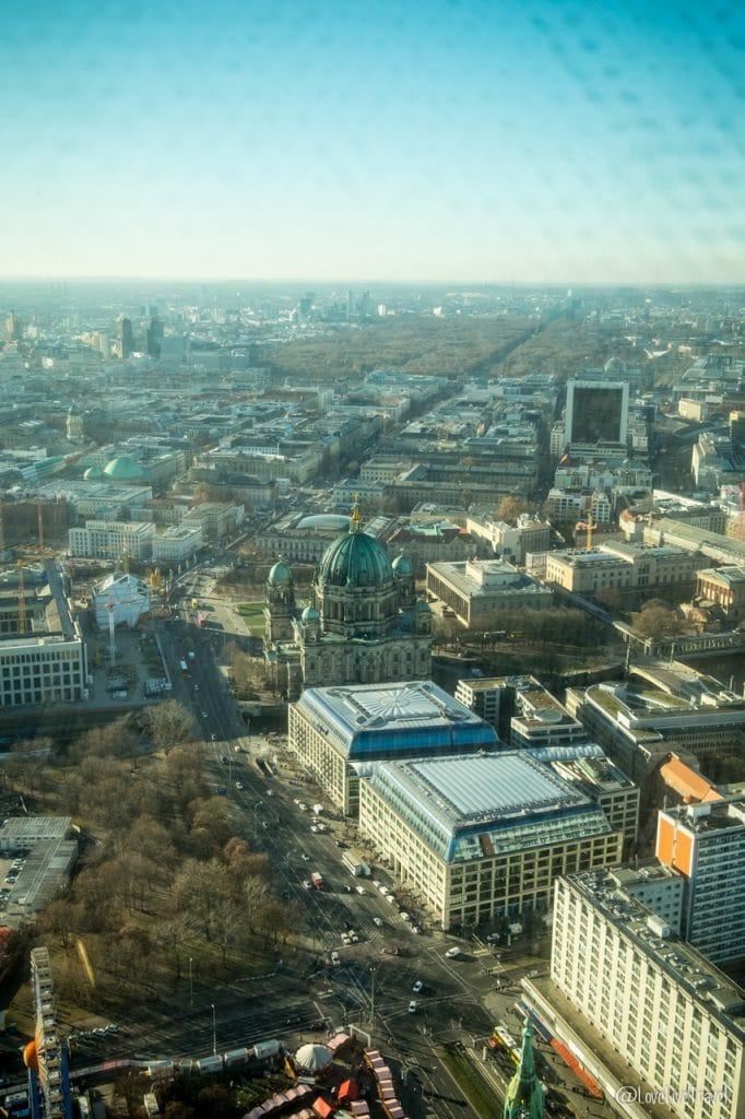 tour télévision Berlin Allemagne blog voyage Lovelivetravel