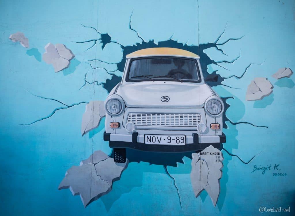 East Side Gallery Berlin Allemagne blog voyage Lovelivetravel