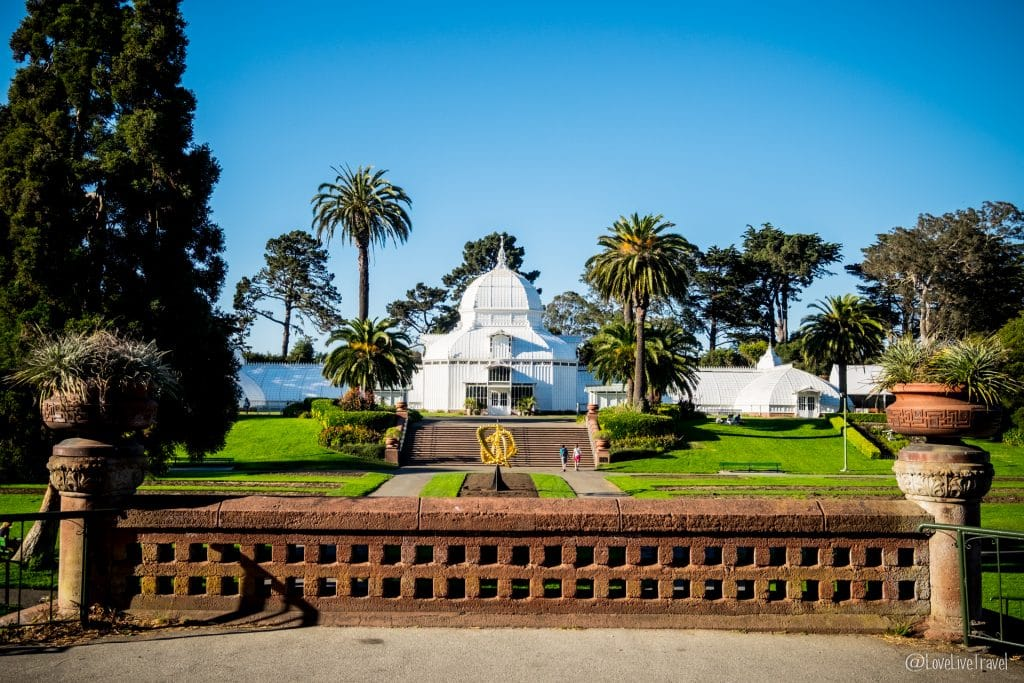 golden gate park street san francisco road trip usa blog voyage lovelivetravel
