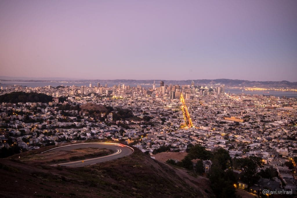 twin peaks san francisco road trip usa blog voyage lovelivetravel