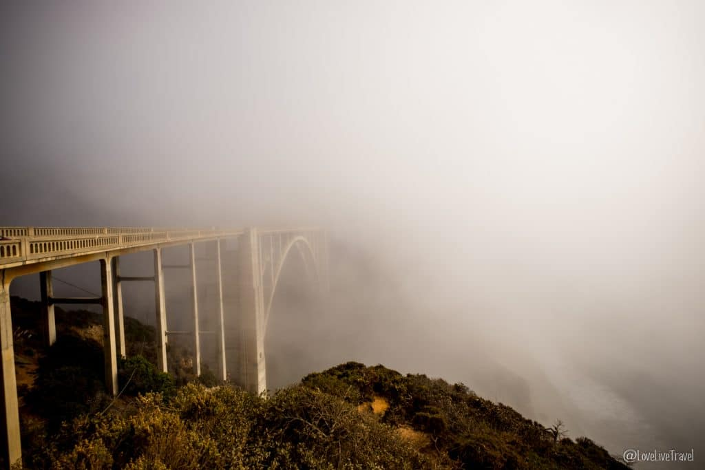 bixby bridge highway 1 road trip usa californie blog voyage lovelivetravel