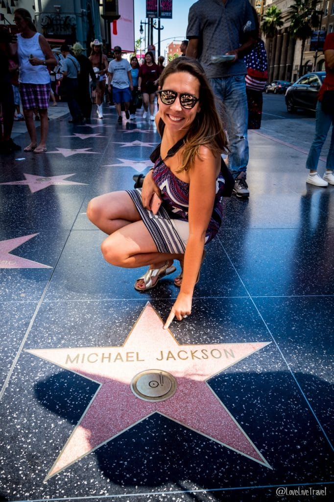 Hollywood boulevard Los Angeles Californie Road trip USA blog voyage Lovelivetravel