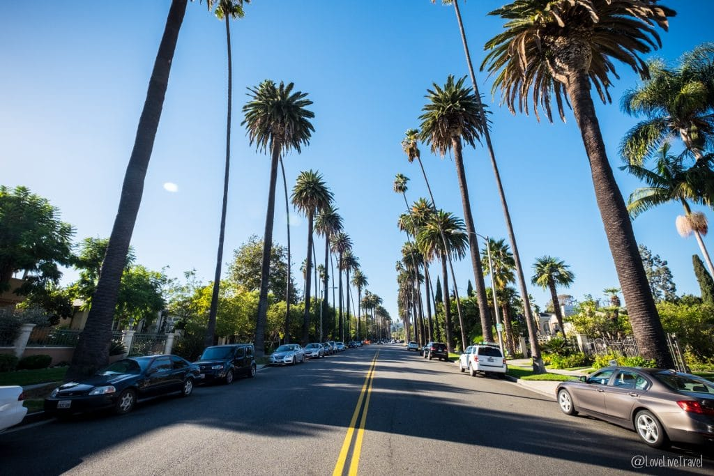 Beverly Hills Los Angeles Californie Road trip USA blog voyage Lovelivetravel