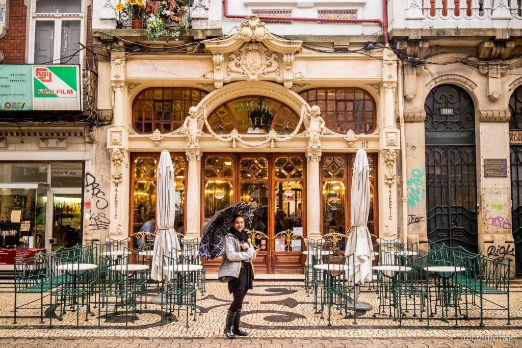 Porto portugal cafe majestic blog voyage lovelivetravel