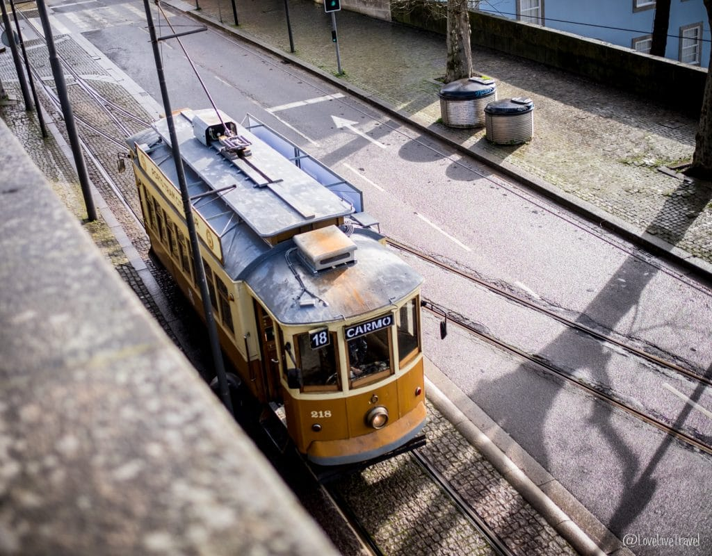 Tramway porto portugal blog voyage lovelivetravel