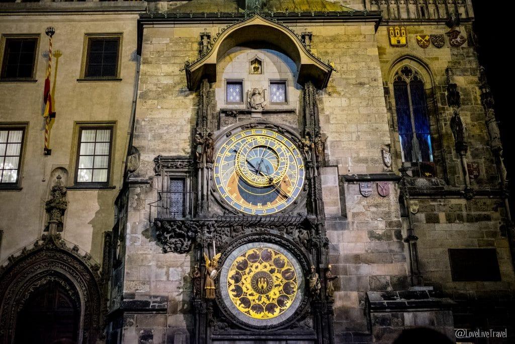 Prague république tchèque tour horloge astronomique blog voyage lovelivetravel
