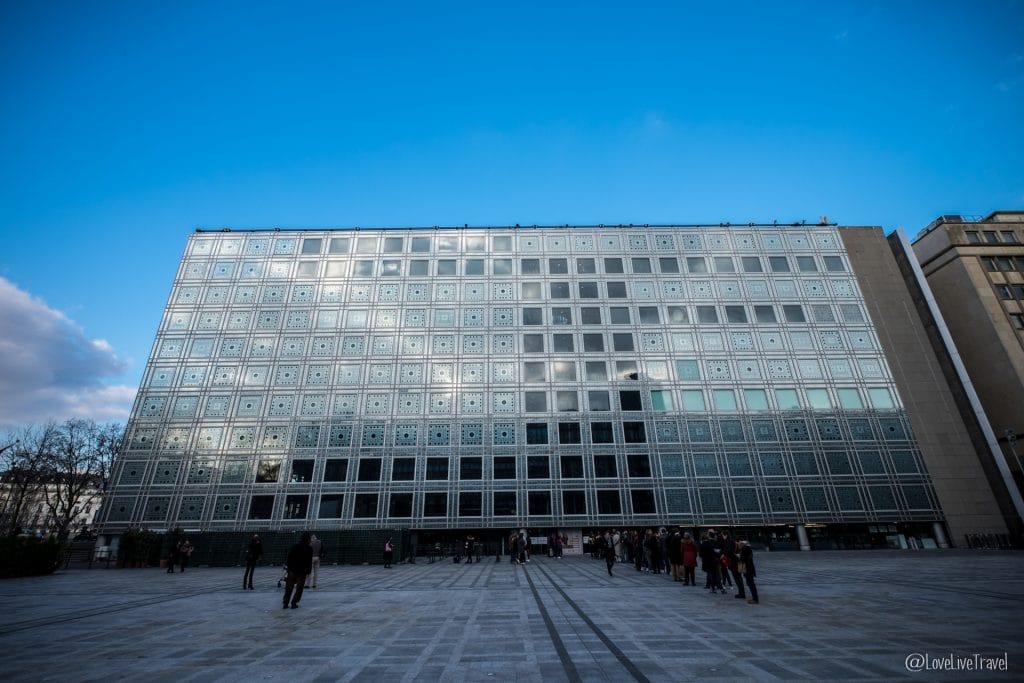 institut monde arabe paris 9 lieux insolites complètement paris france blog voyage lovelivetravel