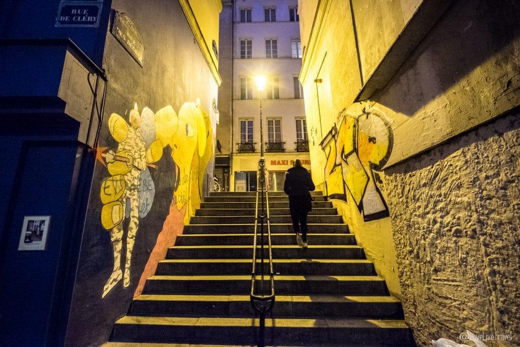 rue des degrés paris 9 lieux insolites complètement paris france blog voyage lovelivetravel