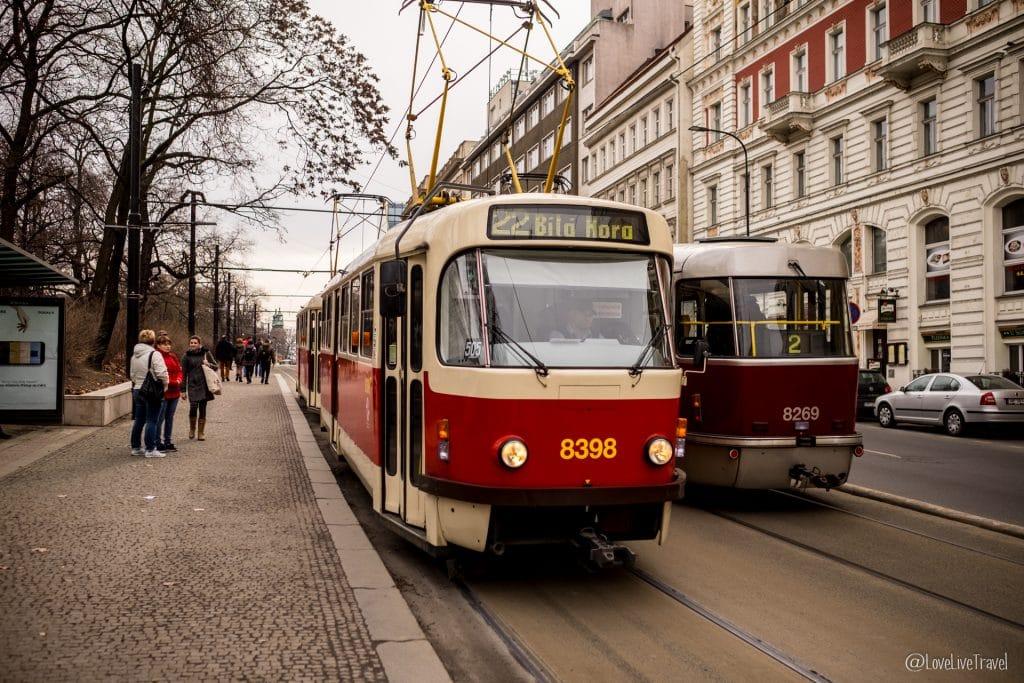 tram Prague république tchèque blog voyage lovelivetravel