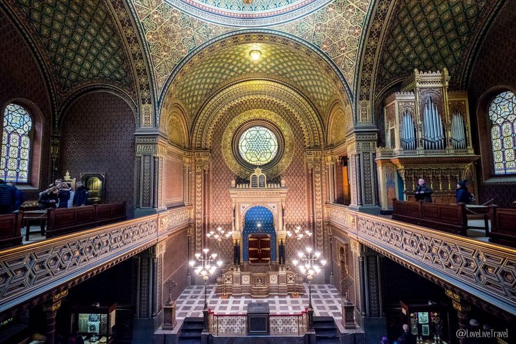 Synagogue espagnole Prague république tchèque blog voyage lovelivetravel