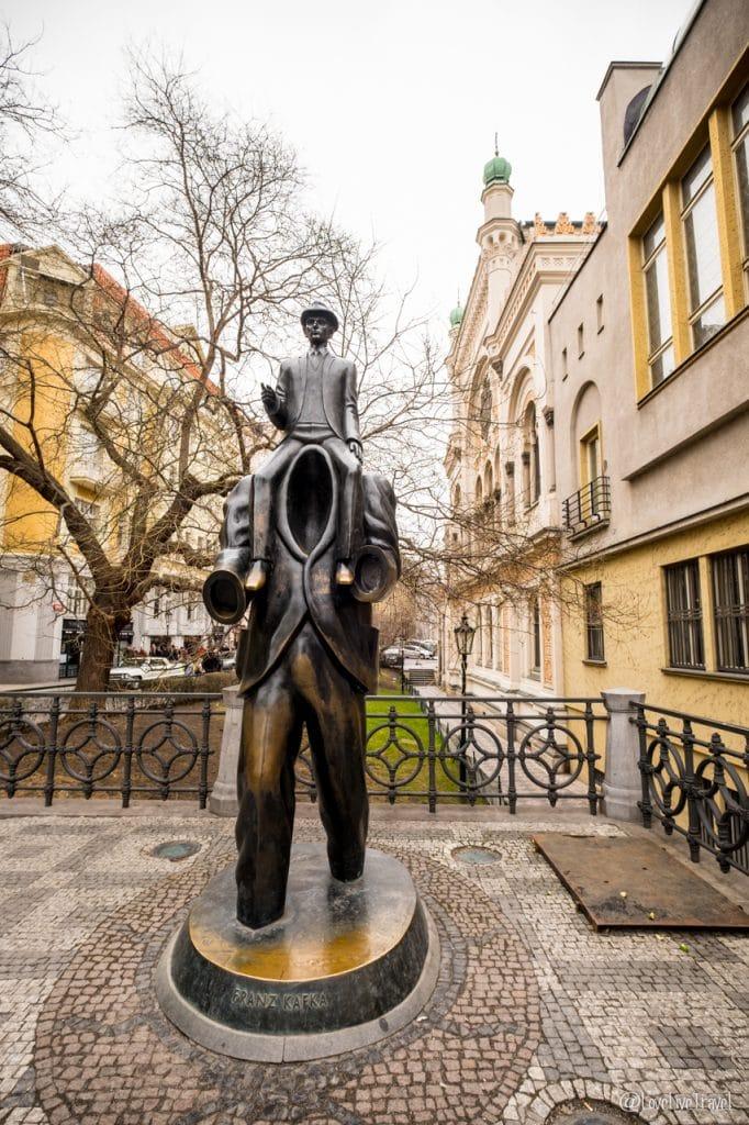 écrivain kafka Prague république tchèque blog voyage lovelivetravel