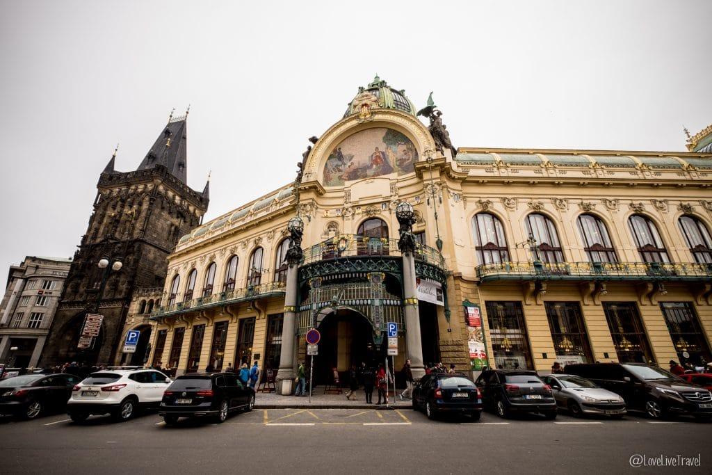 maison municipale Prague république tchèque blog voyage lovelivetravel