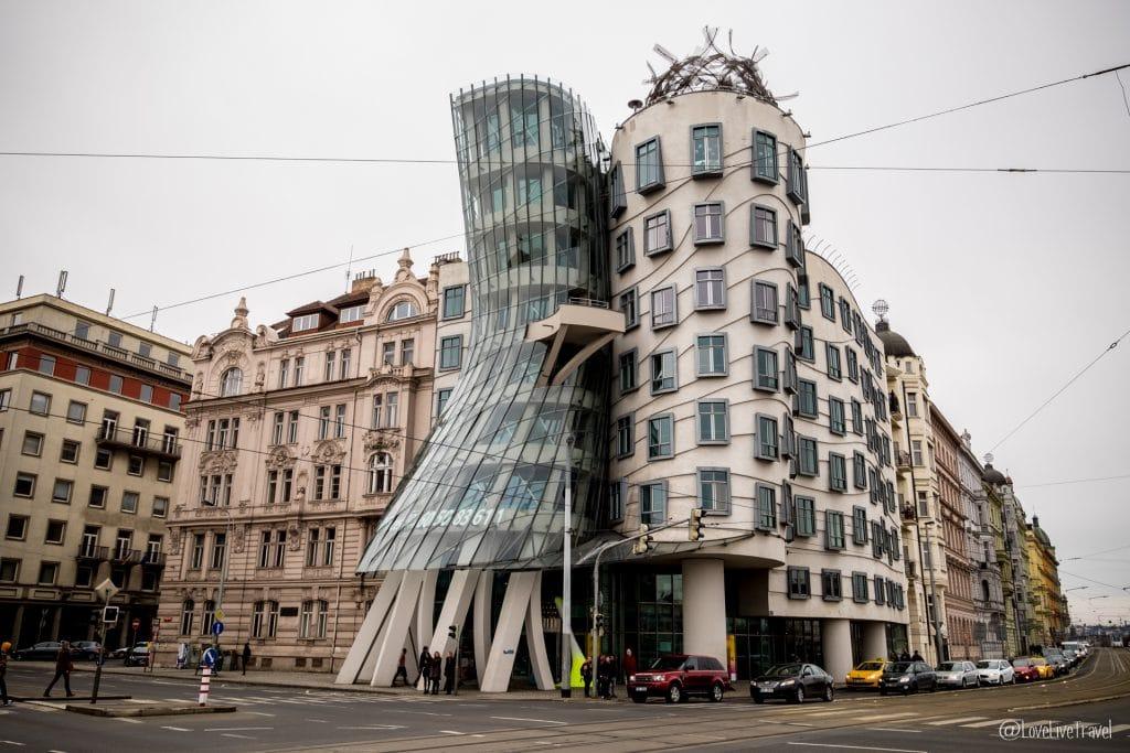 maison dansante Prague république tchèque blog voyage lovelivetravel
