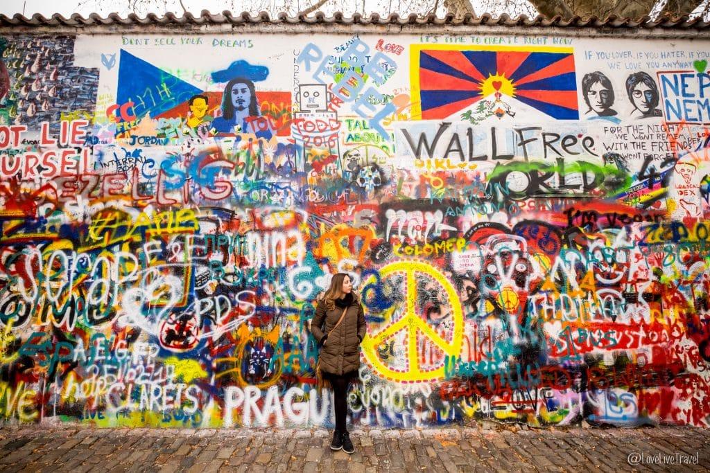 mur john lennon Prague république tchèque blog voyage lovelivetravel