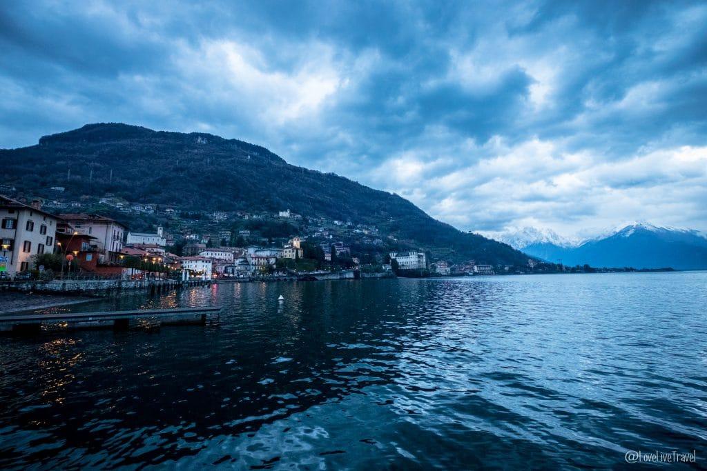 Domaso Lac de come italie blog voyage lovelivetravel