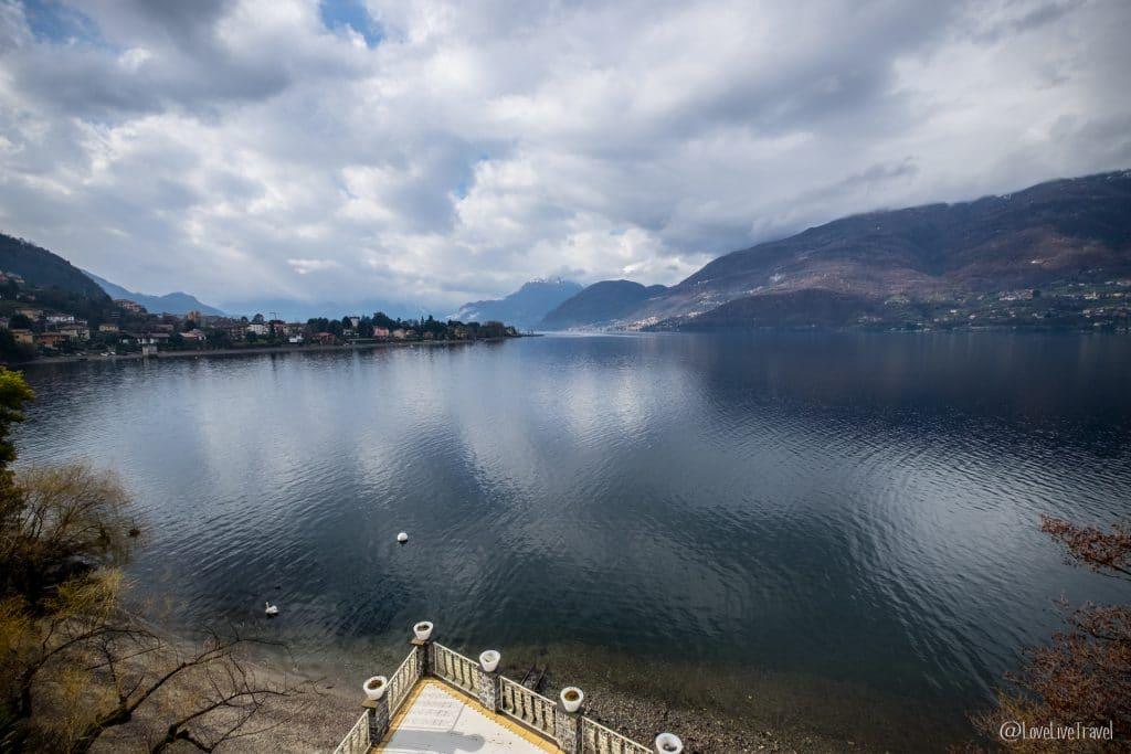 Dervio maison blanche Lac de come italie blog voyage lovelivetravel