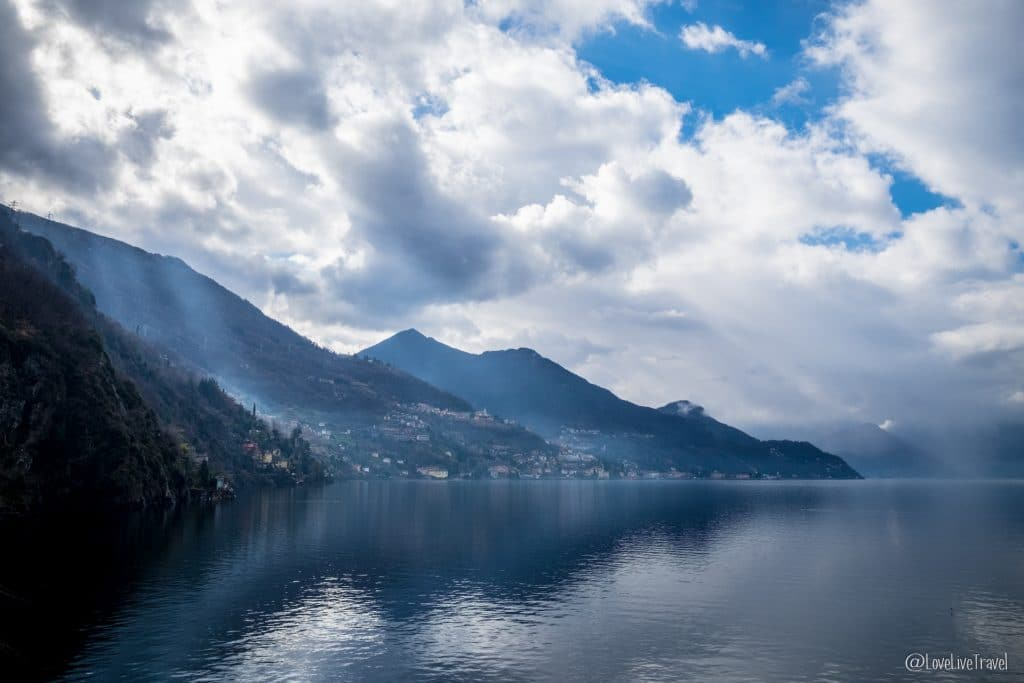 Lac de come italie blog voyage lovelivetravel