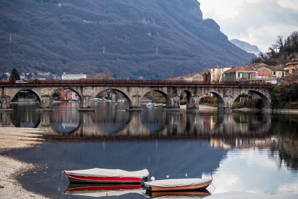 Ponte Azzone Visconti lecco Lac de come italie blog voyage lovelivetravel