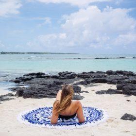 Les Antillaises : test des serviettes de plage rondes