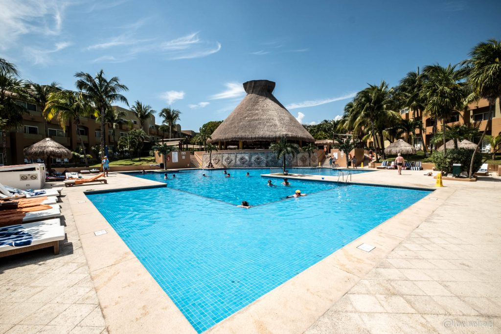 hotel Viva Wyndham azteca playa del carmen mexique blog voyage lovelivetravel
