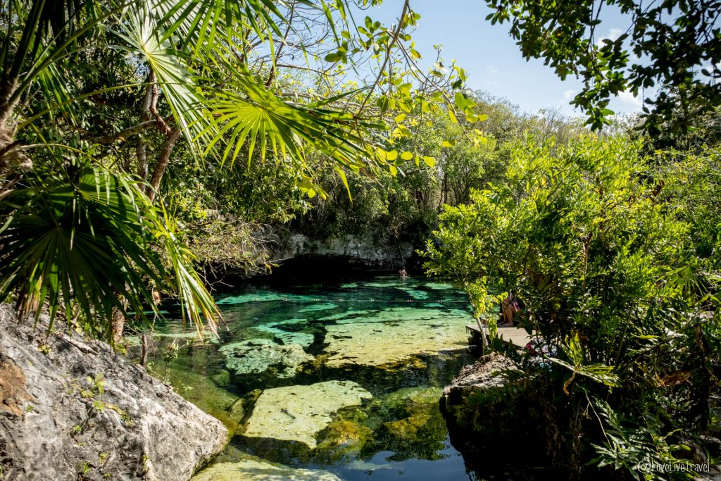 cenote azul mexique blog voyage lovelivetravel