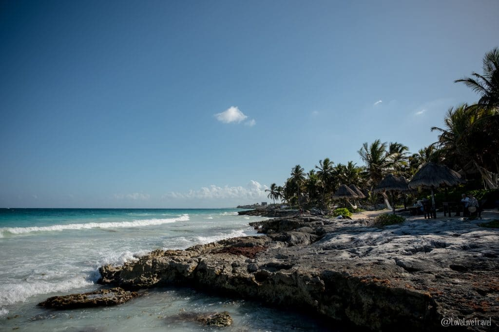 playa paraiso tulum mexique blog voyage lovelivetravel