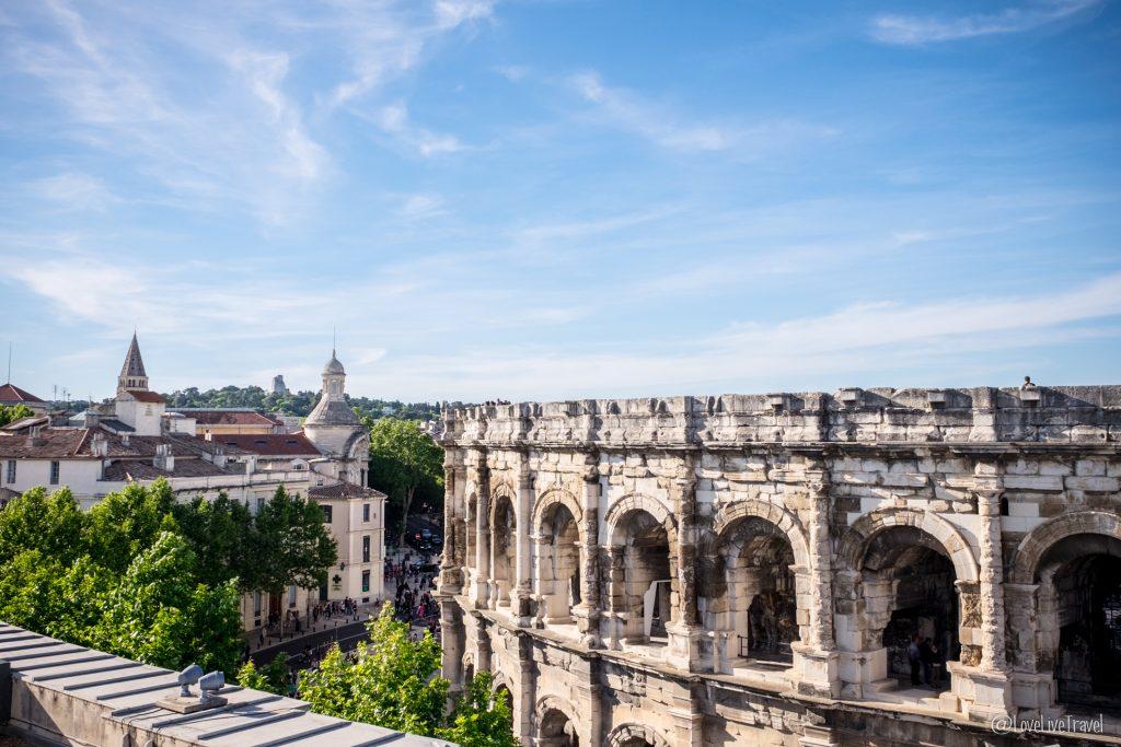 Nîmes fait ses Grands Jeux Romains blog voyage et lifestyle lovelivetravel