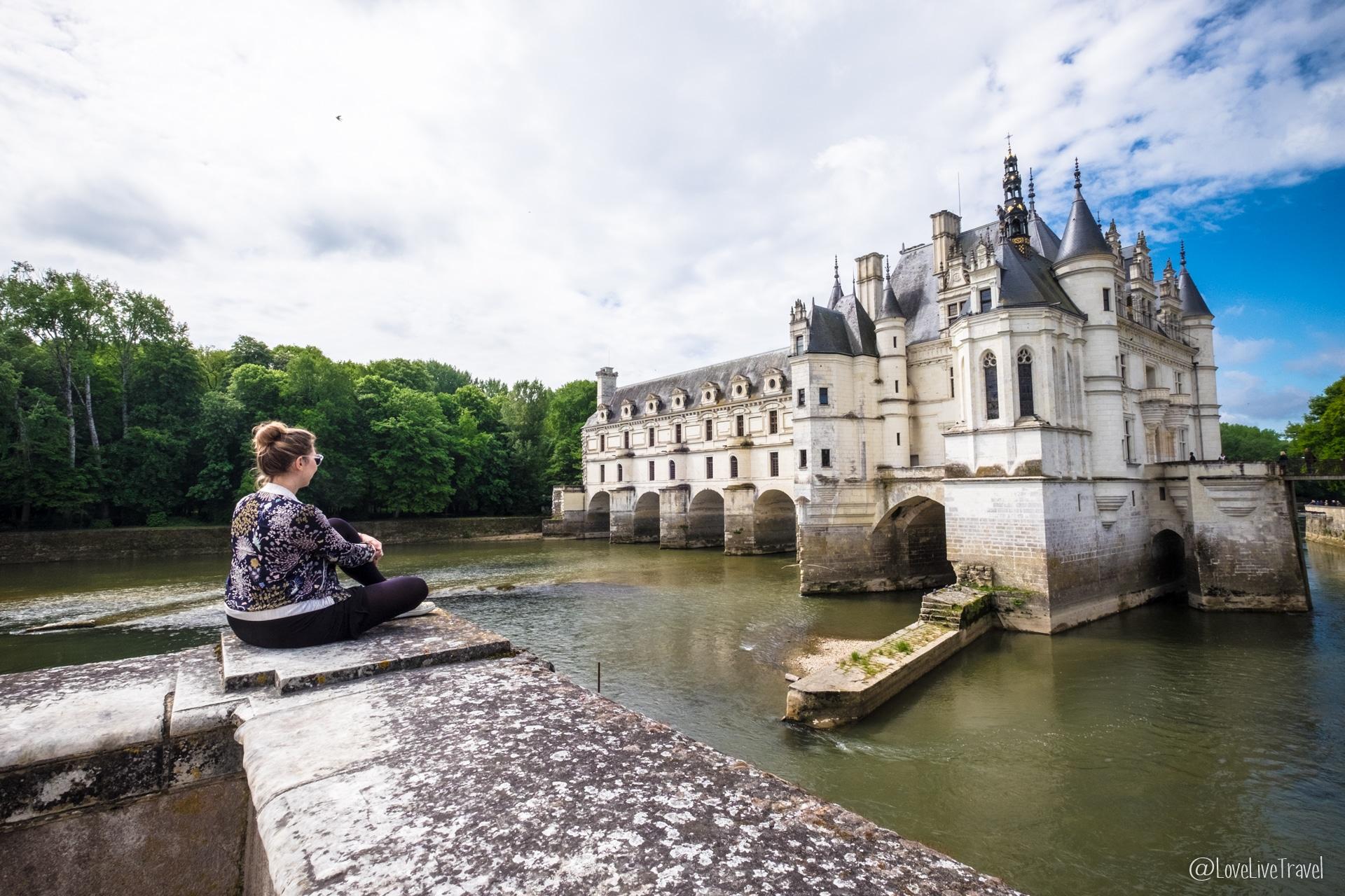 Château de Chenonceau châteaux de la loire france blog voyage lovelivetravel