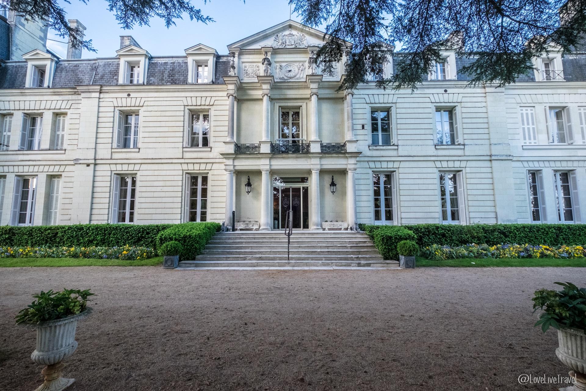 hôtel Rochecotte châteaux de la loire chinon châteaux de la loire france blog voyage lovelivetravel