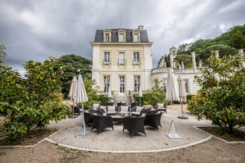 hôtel Rochecotte chinon châteaux de la loire france blog voyage lovelivetravel