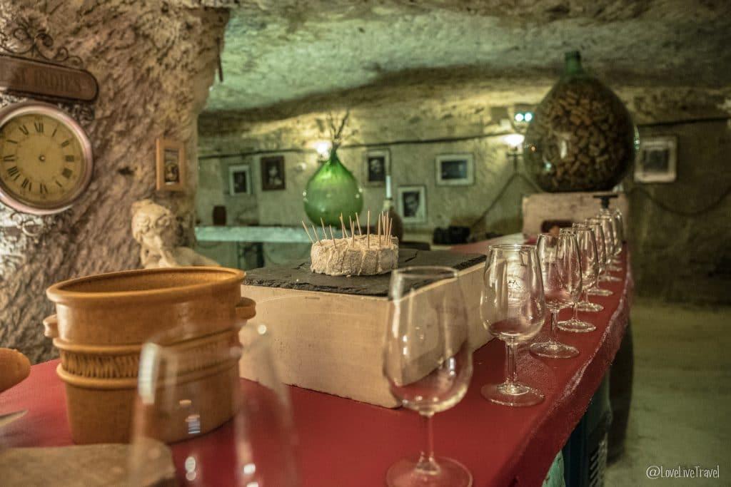 troglo degusto chinon châteaux de la loire france blog voyage lovelivetravel