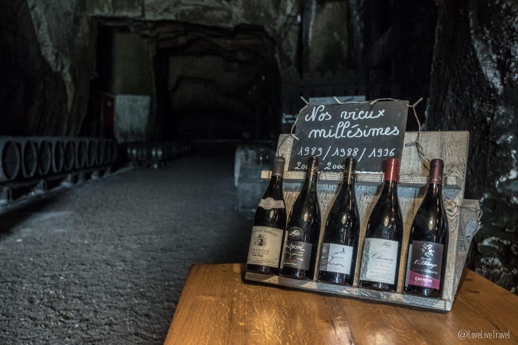 caves monplaisir chinon châteaux de la loire france blog voyage lovelivetravel