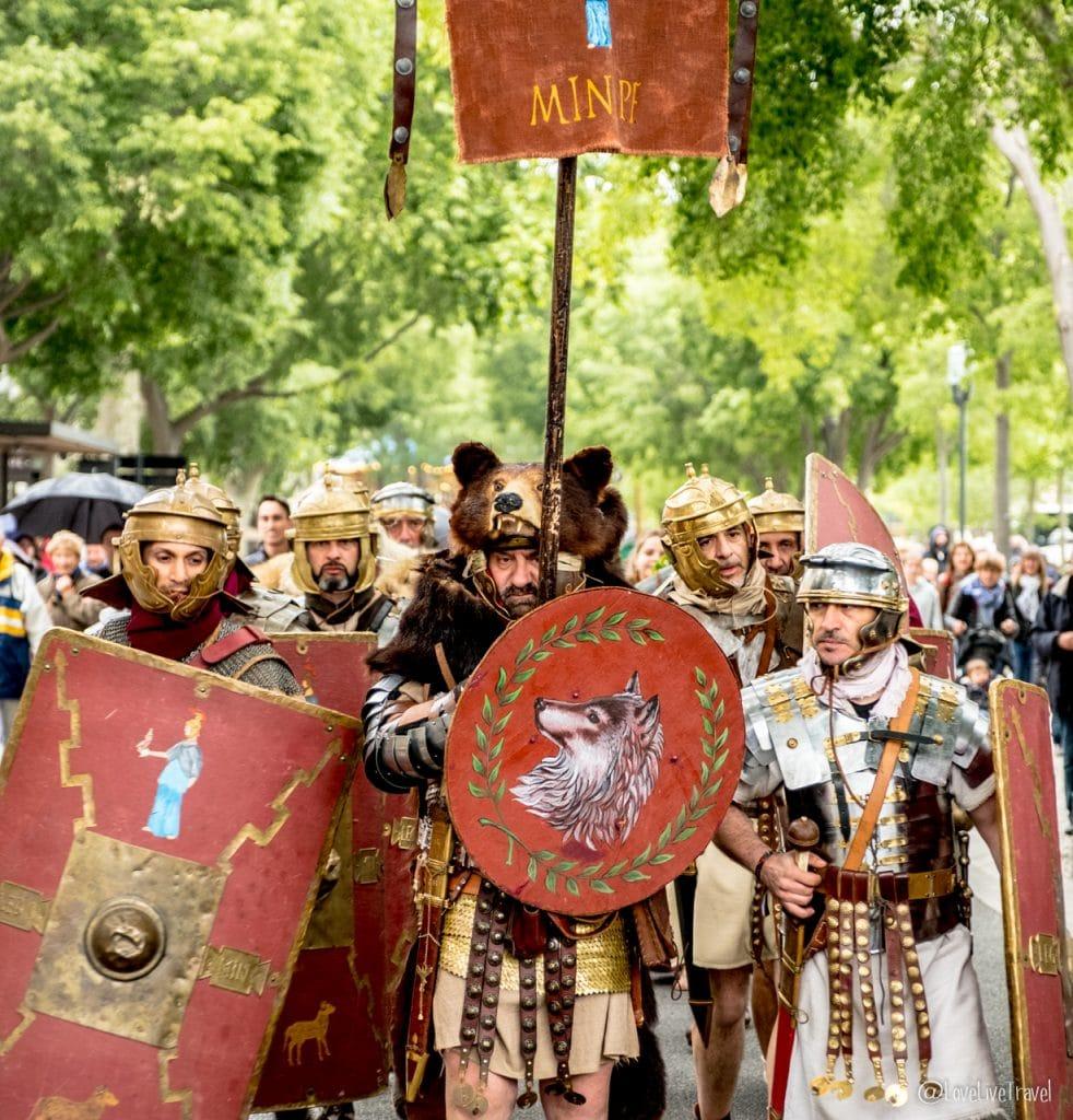 Nîmes Gard France Jeux romains blog voyage lovelivetravel