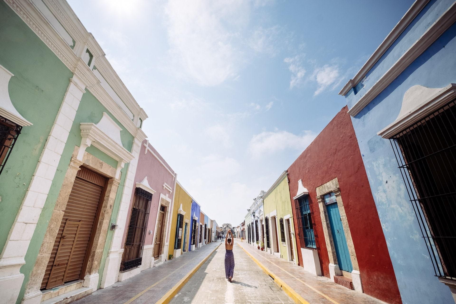 Campeche, une ville haute en couleur