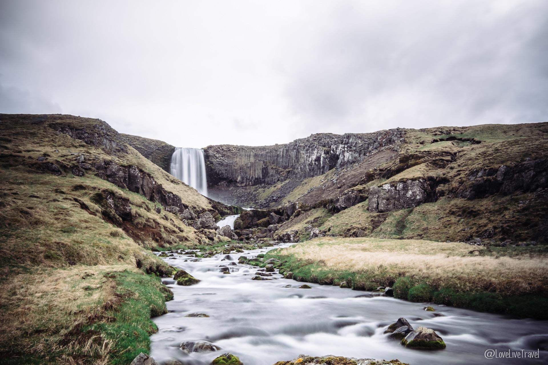 Svodufoss Islande blog voyage lovelivetravel