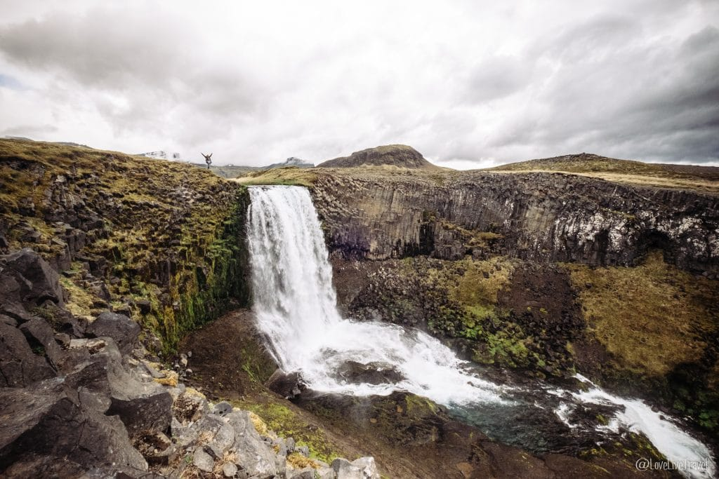 Svodufoss Islande blog voyage lovelivetravel