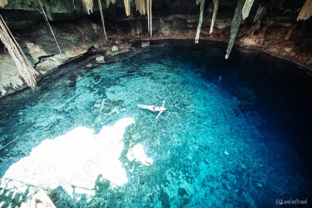Cenote Kankirixche mérida yucatan mexique blog voyage lovelivetravel