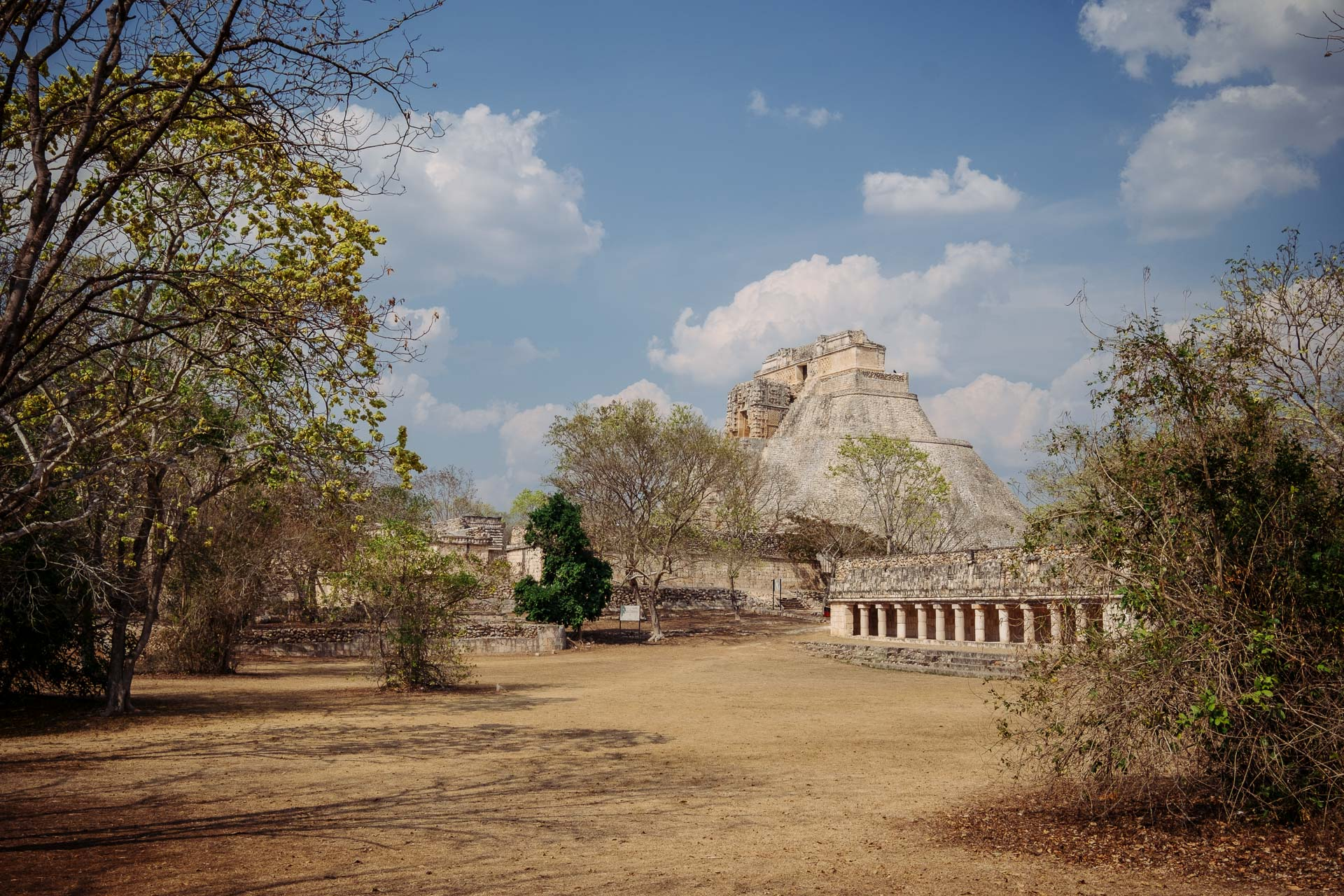 La cité Maya de Uxmal au Mexique