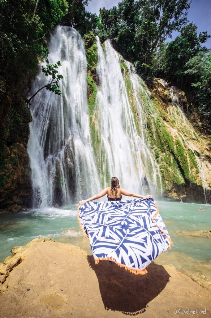 cascade el limon las terrenas république Dominicaine blog voyage lovelivetravel