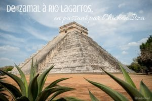 las coloradas Izamal rio lagartos Chichen Itza mexique blog voyage lovelivetravel