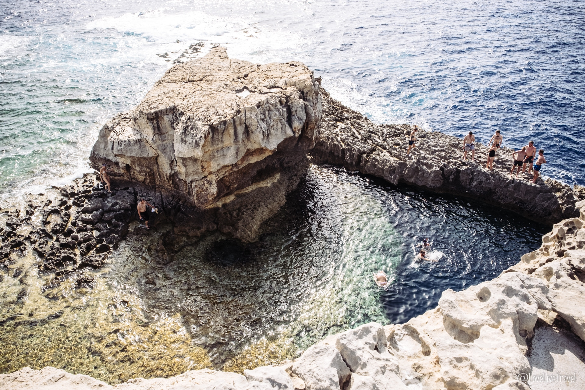 azure window malte gozo blog voyage lovelivetravel