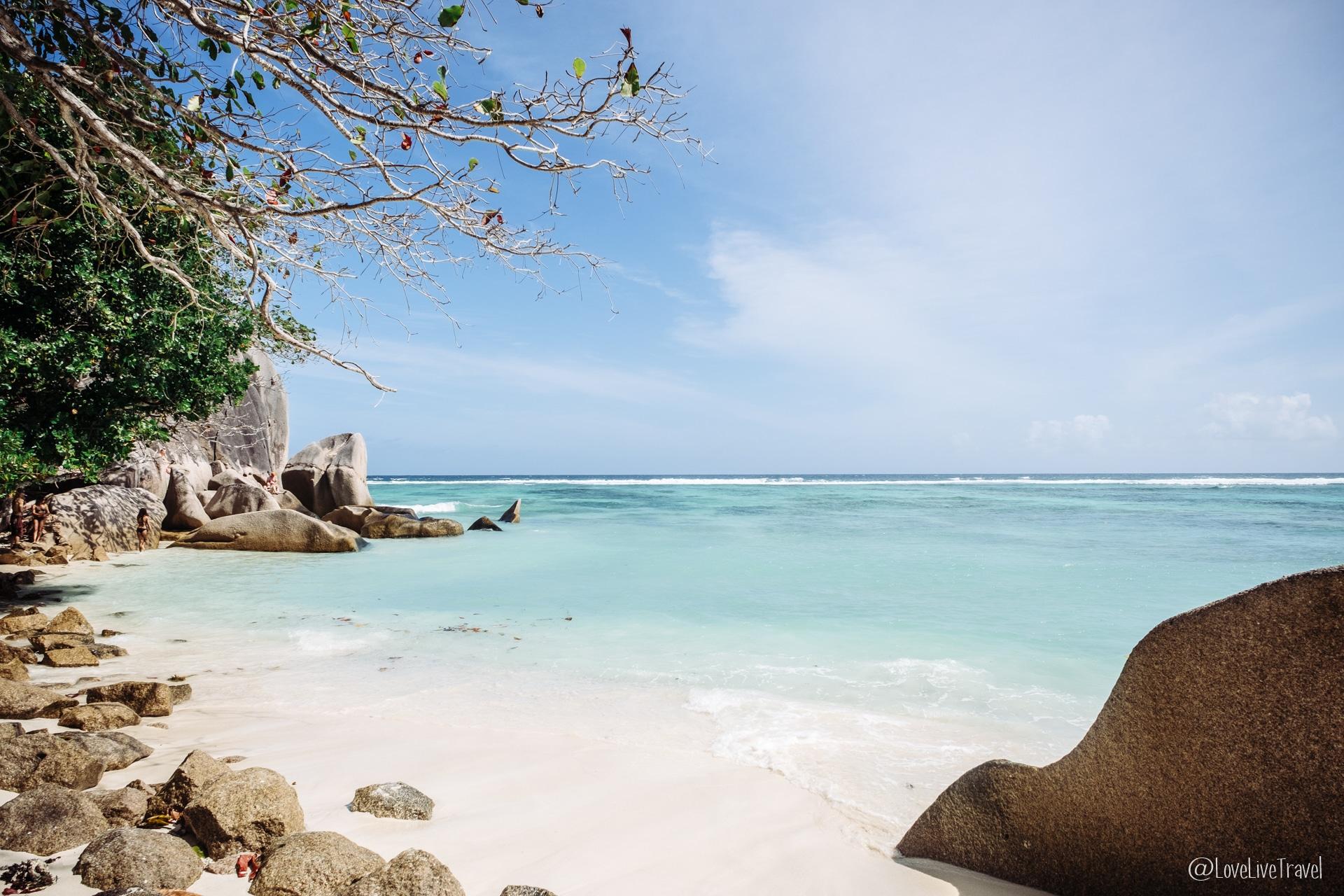 anse source d'argent La Digue seychelles blog voyage lovelivetravel
