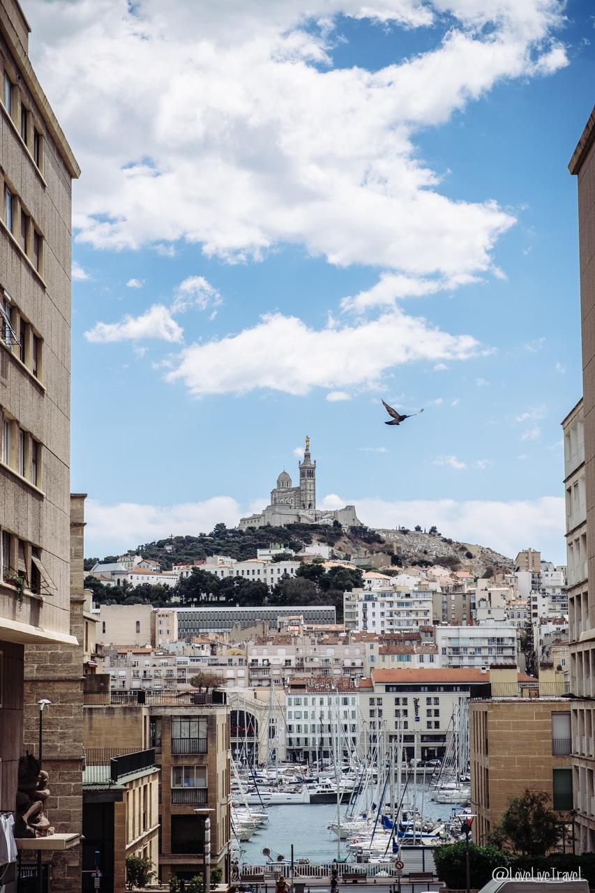 notre dame de la garde Marseille france blog voyage lovelivetravel
