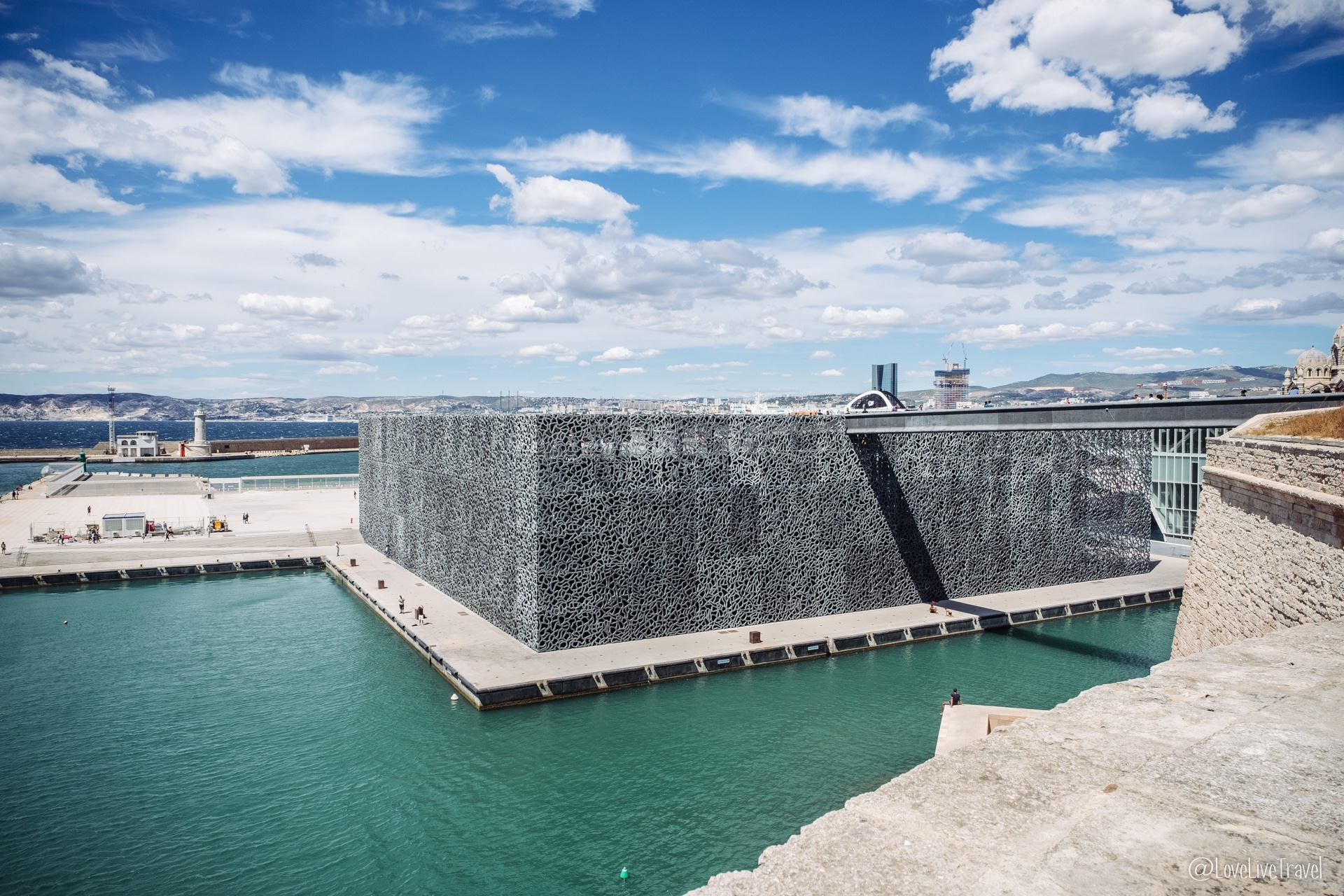 mucem Marseille france blog voyage lovelivetravel