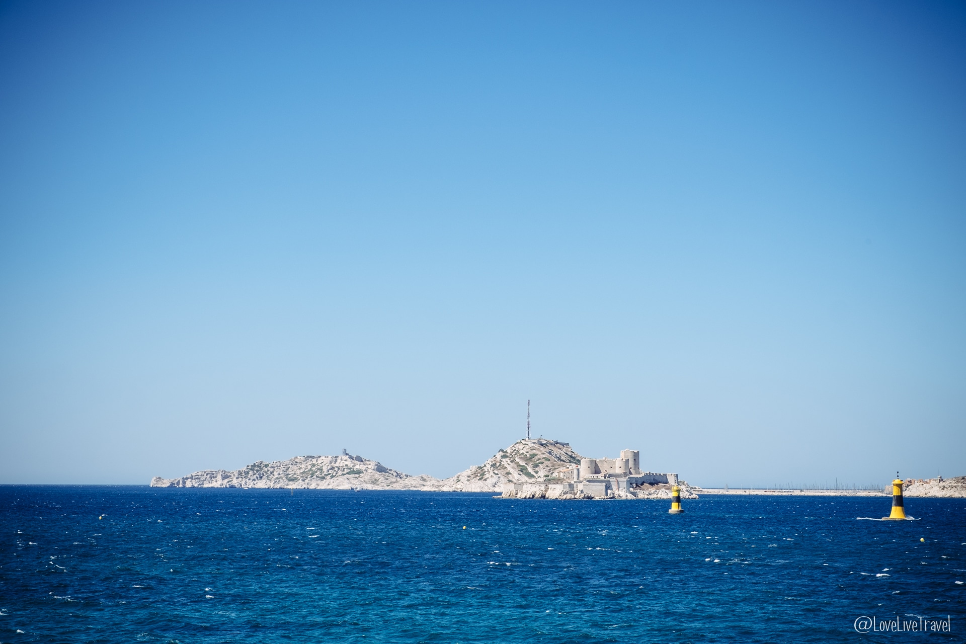 iles d'if frioul Marseille france blog voyage lovelivetravel